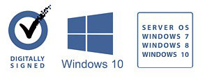 Windows 10 Digitally Signed