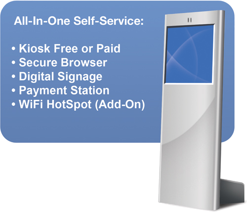 Kiosk software All in one