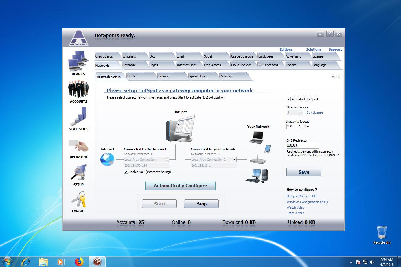 Windows 7 umts hotspot